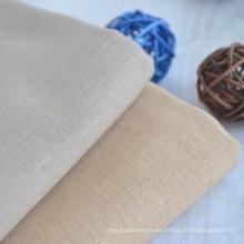 55% Lino 45% Algodón Camiseta de la ropa Tela textil