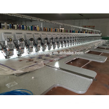 39 heads flat+easy cording mix embroidery machine