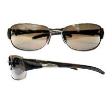 Herren-Mode-Qualität Metall UV-geschützte Auge Sonnenbrille (14194)