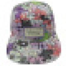 Gorras de tela floral con Flat Peak SD13