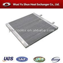 Alumínio radiador núcleos / tanque radiador para máquinas de construção / placa tipo de aleta de refrigeração de água trocador de calor fabricante