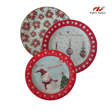 9 inch Christmas Paper Plate