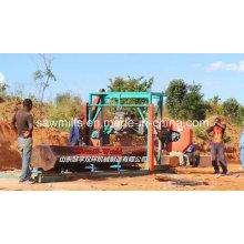 Machine de scie à ruban Horizontal coupe bois scierie