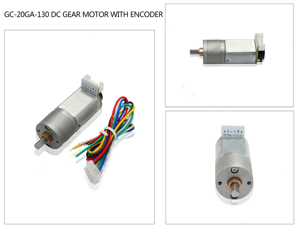 geared dc motor with encoder
