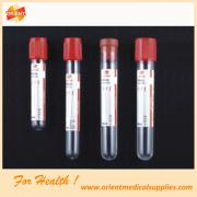 Tubo de coleta de sangue vácuo ou não-vácuo