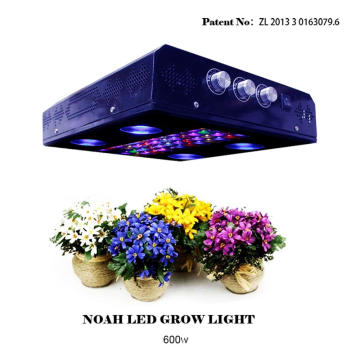 Três Dimmers 600w Noah4 LED Grow Light