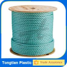 Cuerda de empacadora de 3 hilos de polipropileno virgen de 25mm 100%