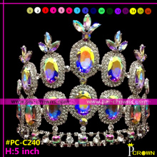 2014 New Crystal tiaras and crowns cheap for pageants