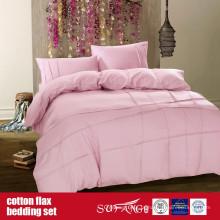 Roupa de cama do linho do algodão para o uso home do hotel de luxo