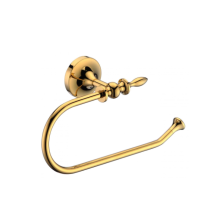 Brass bathroom towel ring for placing hand towels