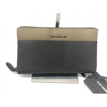 Saco de embreagem masculino couro casual carteira envelope saco