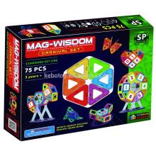 2016 3D Magnetic Building Tiles for children