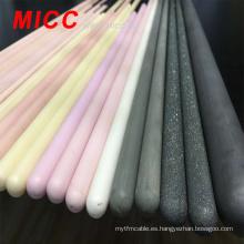 Tubo de protección de termocupla de alta temperatura 99.5% Al2O3 de MICC