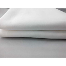Plain White Bed Sheet Use Polycotton Fabric