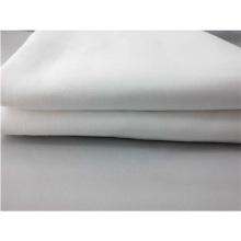 Tela branca lisa do Polycotton do uso da folha de cama