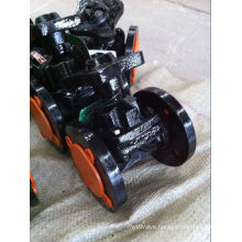 BS Cast Iron Steel Flange Diaphragm Valve (Weir Pattern)