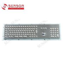 Металлическая клавиатура для киосков Оригинальная металлическая клавиатура для мобильных телефонов
