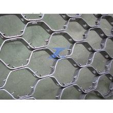 Malla de alambre hexagonal de acero inoxidable antiincendio (TS-E94)
