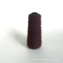 China wholesale 1.3 cm 13NM 100 %Nylon imitate mink hair fancy yarn for knitting sweater