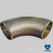 Bw Smls Raccords de tuyaux en acier inoxydable (coude)