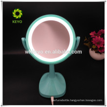2018 hot new design LED light 5X magnification cosmetic mirror