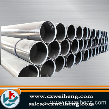 Galvanized and PVC coated Erw Steel pipe
