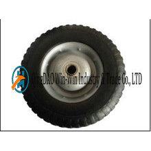 Rueda de 10 pulgadas Airless Rubber para Hand Trolley Made in China