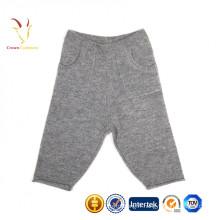 Pantalon de cachemire d'hiver super chaud pour bébé / enfants