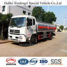 14cbm Dongfeng Kinrun Euro 3 Petrol Tanker Truck with Cummins Diesel Engine