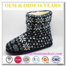 Bota de luxo barata para promoção, bota inicial de inverno quente