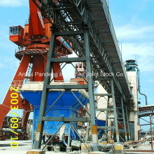 Cema/DIN/ASTM/Sha Trussed Belt Conveyor Application in Steelworks/Cement/Port