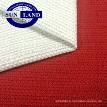 maille polyester antistatique tricotée par fournisseur pour les semelles intérieures