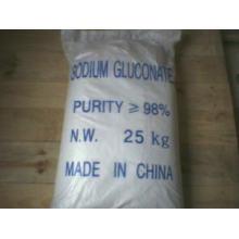 Pó de Gluconato de Sódio Grau Industrial / Grau de Alimentação