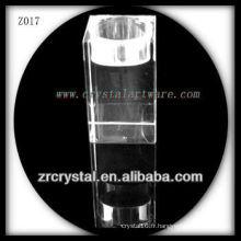 Bougeoir en cristal populaire Z017