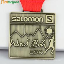 Medalla de encargo del deporte Medalla de deporte del logotipo