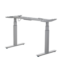 Mobiliário de escritório branco mesa de pé de computador mesa