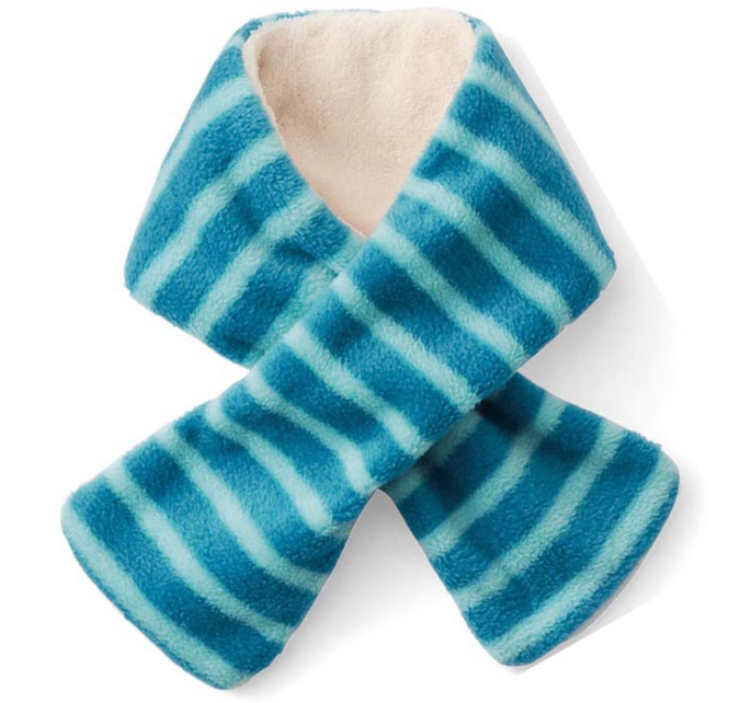 Printing Polar Fleece Scarf Blue