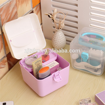 Plastic Multipurpose Portable Handled Organizer Storage Box