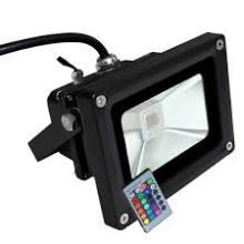 10W Jardim Spot IP65 12V Projetor LED RGB Cor Flood Light