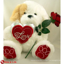 EN71&ASTM standard valentine day plush bear