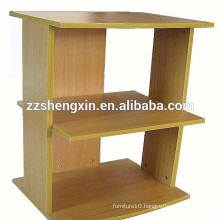 Simple Display Stands Wooden Goods Shelf