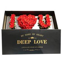 Custom Flowers Gift Valentines Day Rose Packaging Box