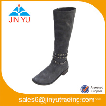 Women Texture Fetish Leather Boots