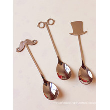 Custom New Design Stainless Steel Coffee Spoon