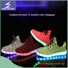 Olympics Sports Shoes LED Light with Colorful Changing