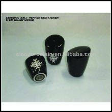 Nice artwork ceramic salt and pepper container for BS12056D