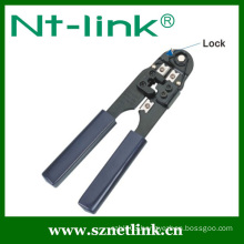 hand crimp tool for 8p8c with lock