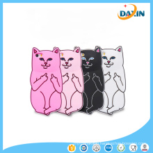 Cell Phone Accessory for iPhone Cat Shape Silicone Phone Case