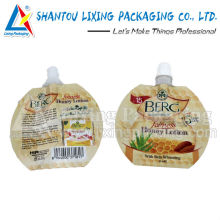 LIXING PACKAGING free sample spout pouch, free sample spout bag, free sample pouch with spout, free sample bag with spout