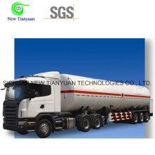 Semirremolque de contenedor de tanque de propano de GLP de gas licuado